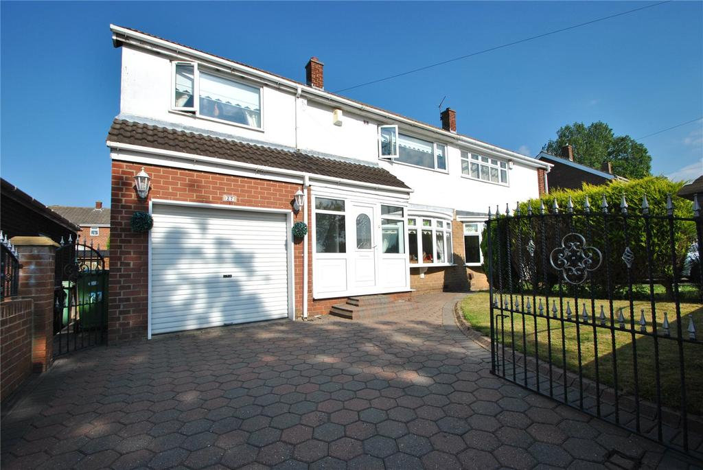 3 Bedrooms Semi Detached House for sale in Claypath Road, Hetton le Hole, Houghton le Spring, DH5
