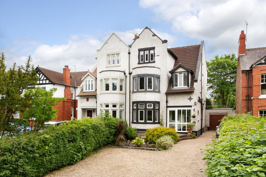 6 Bedrooms Semi Detached House for sale in Crewe Road, Nantwich, Cheshire