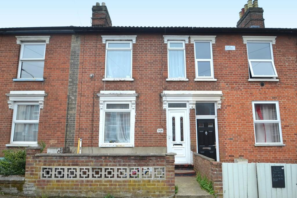 3 Bedrooms Terraced House for sale in Spring Road, Ipswich, Suffolk, IP4 5NL