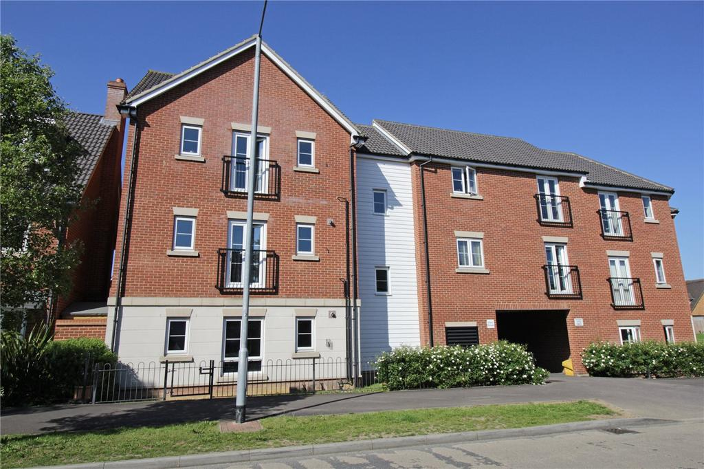1 Bedroom Apartment Flat for sale in Eton House, School Avenue, Laindon, Essex, SS15