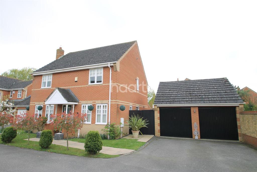 4 Bedrooms Detached House for sale in Scholars Way, Low Side, Upwell