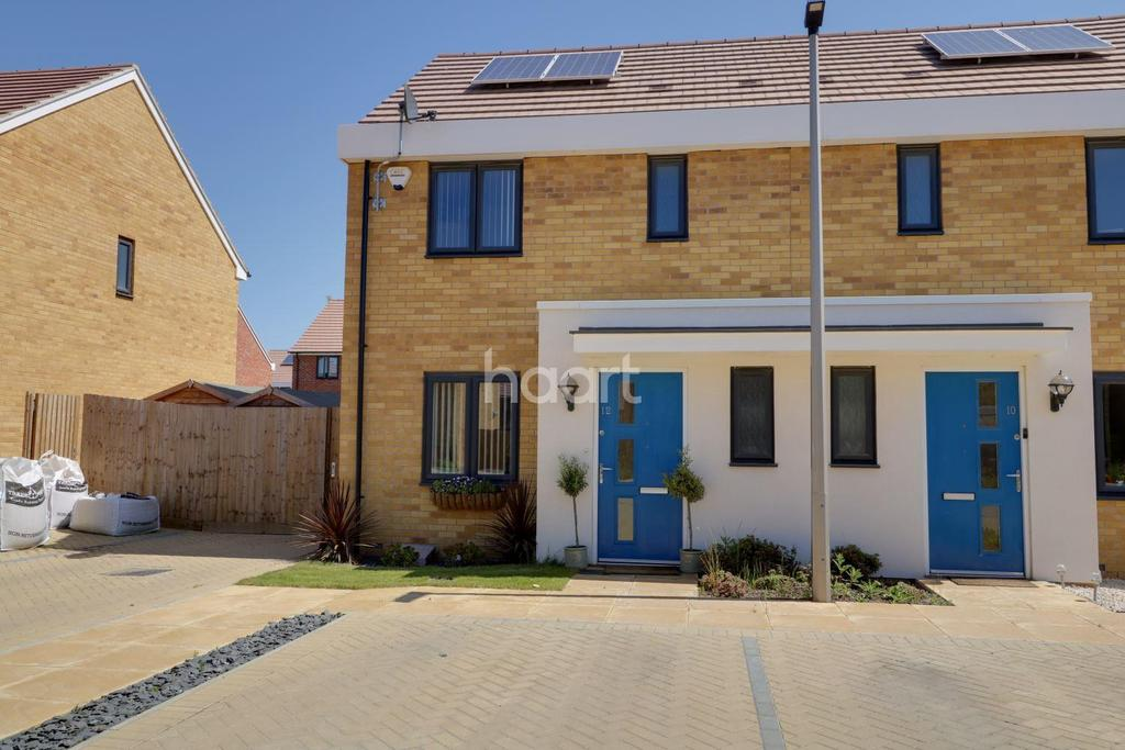 3 Bedrooms Terraced House for sale in Sanderling Close, East Tilbury, RM18