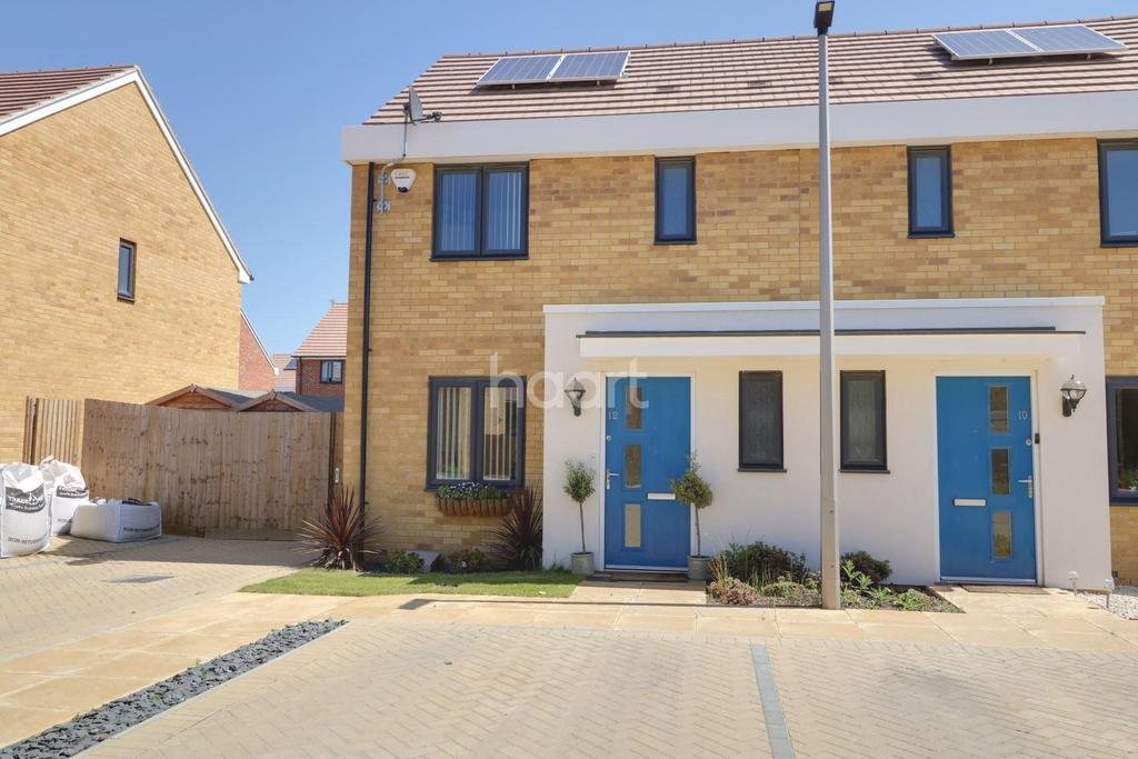 3 Bedrooms Semi Detached House for sale in Sanderling Close, East Tilbury