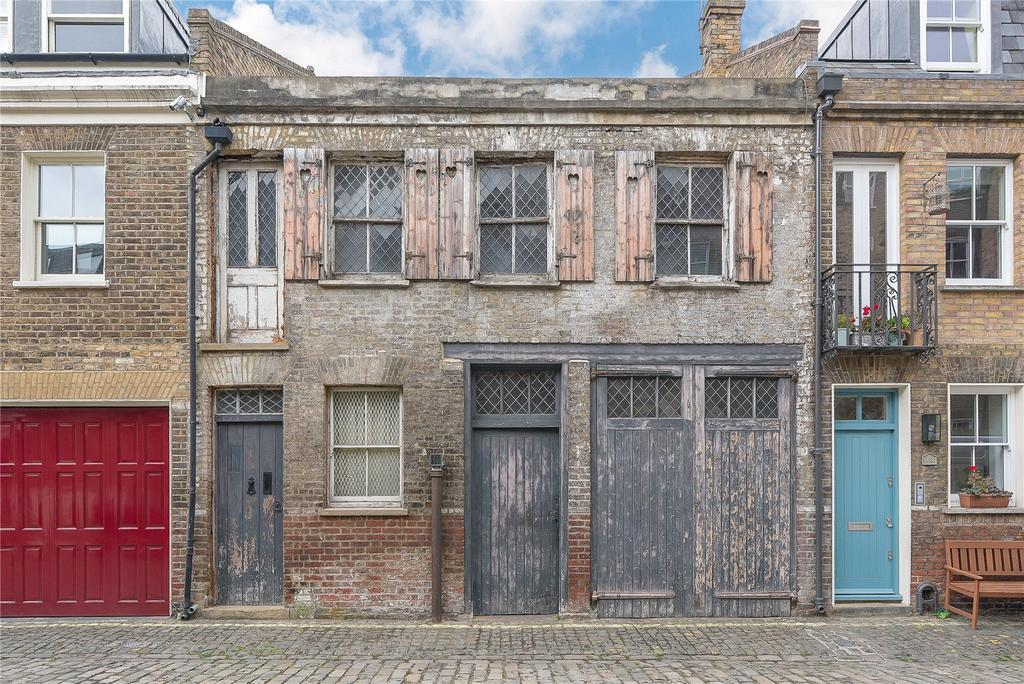 1 Bedroom Mews House for sale in Pindock Mews, Maida Vale, London, W9