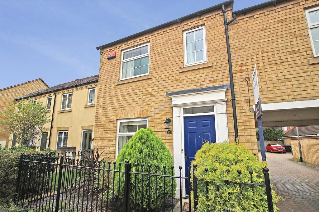3 Bedrooms Terraced House for sale in Bevington Way, Eynesbury