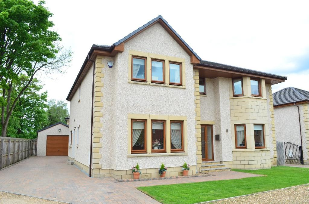5 Bedrooms Detached House for sale in Ross Cottage Drive, Ferniegair, Hamilton, South Lanarkshire, ML3 7WR