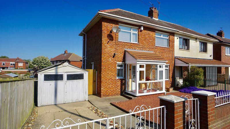 2 Bedrooms Semi Detached House for sale in WHITLEY ROAD, Holystone