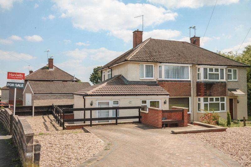 3 Bedrooms Semi Detached House for sale in Reigate Drive, Derby