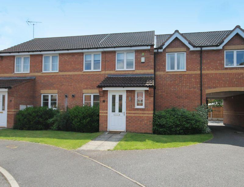 2 Bedrooms Terraced House for sale in ROSE CLOSE, CHELLASTON
