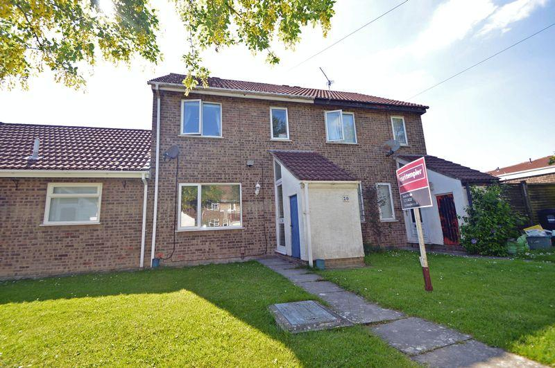 3 Bedrooms Terraced House for sale in Cul de sac position close to Clevedon town centre