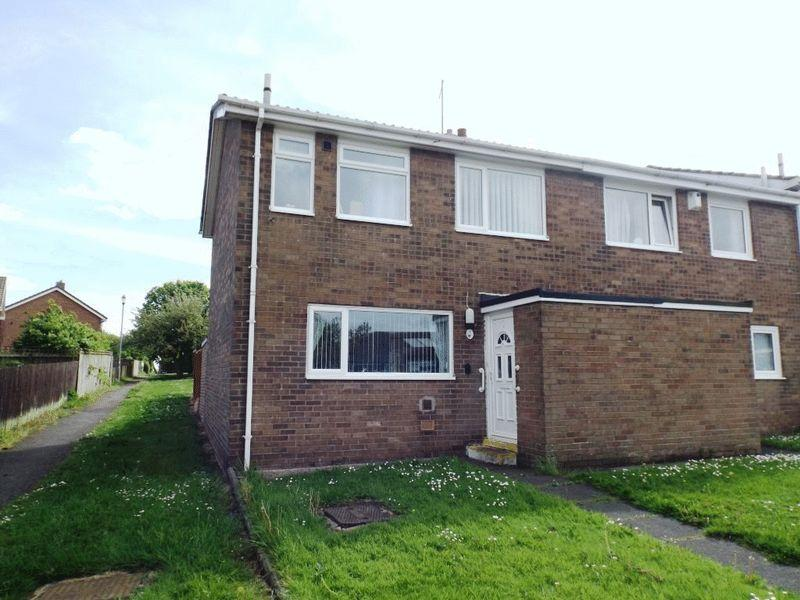 2 Bedrooms Semi Detached House for sale in De Walden Square, Pegswood