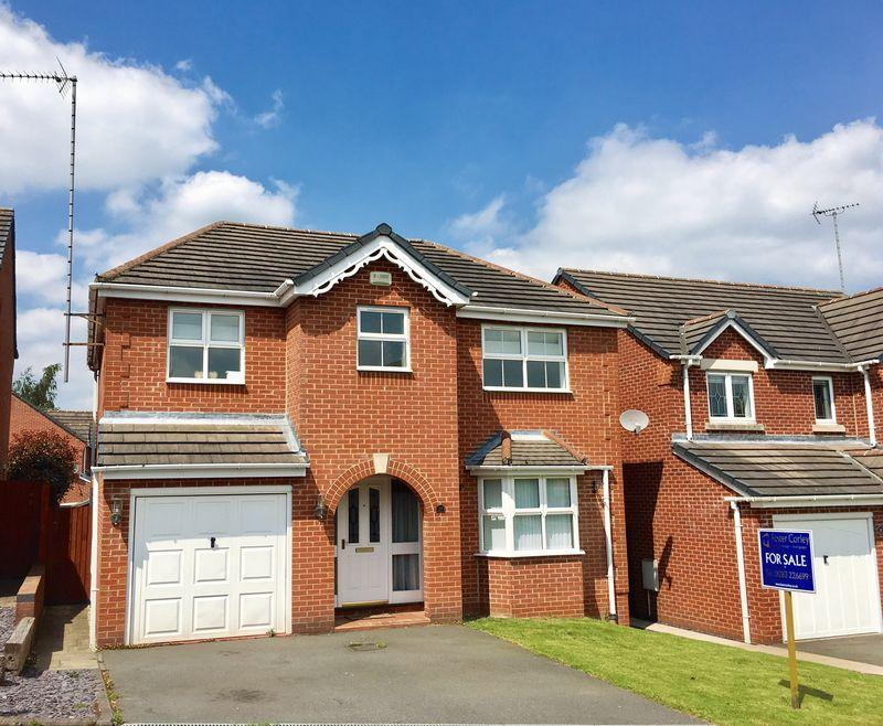 4 Bedrooms Detached House for sale in Harebell Close, Swadlincote