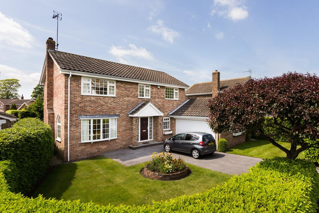 4 Bedrooms Country House Character Property for sale in Dower Chase, Escrick, York, YO19