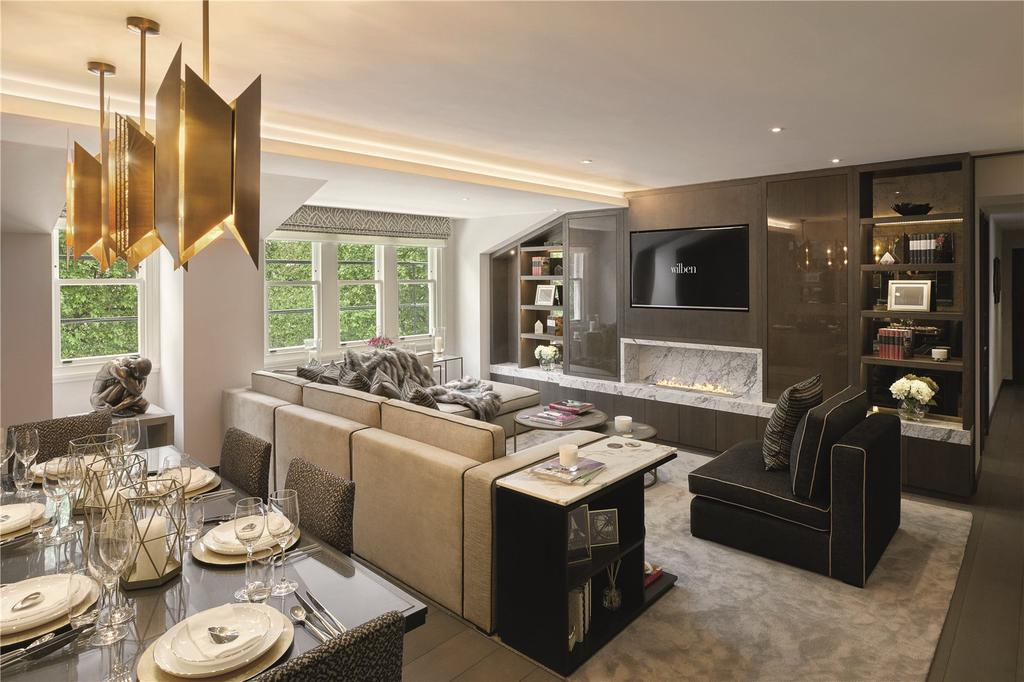 3 Bedrooms Penthouse Flat for sale in Rutland Gate, London, SW7