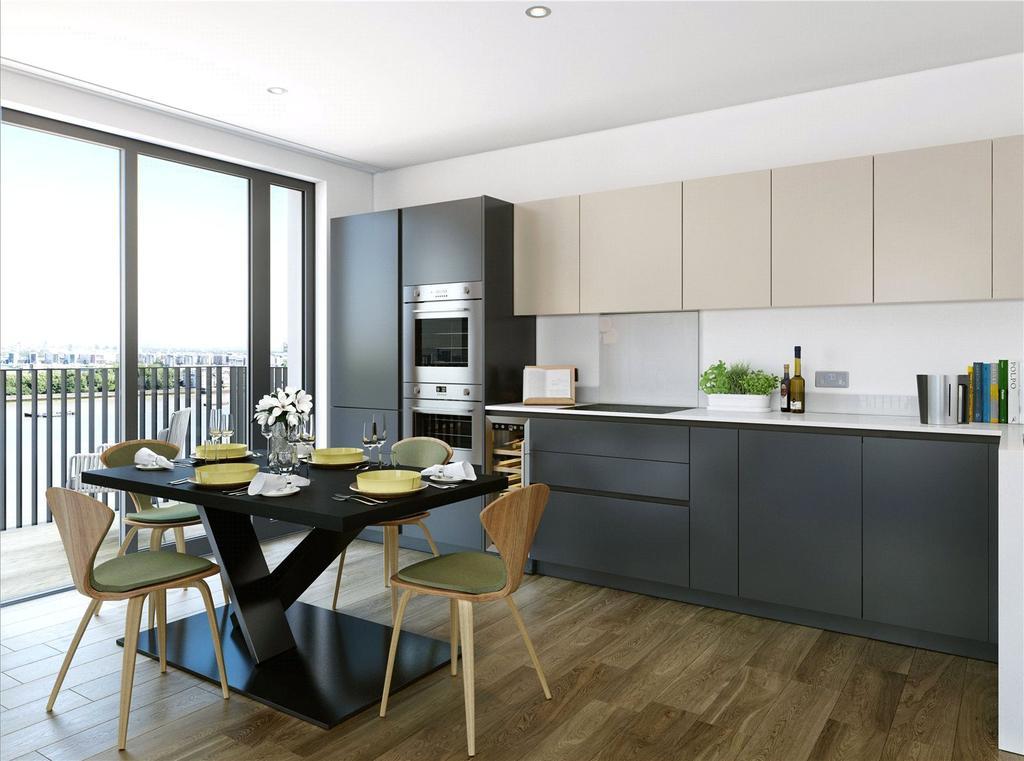 1 Bedroom Flat for sale in Callis Yard, Woolwich, SE18