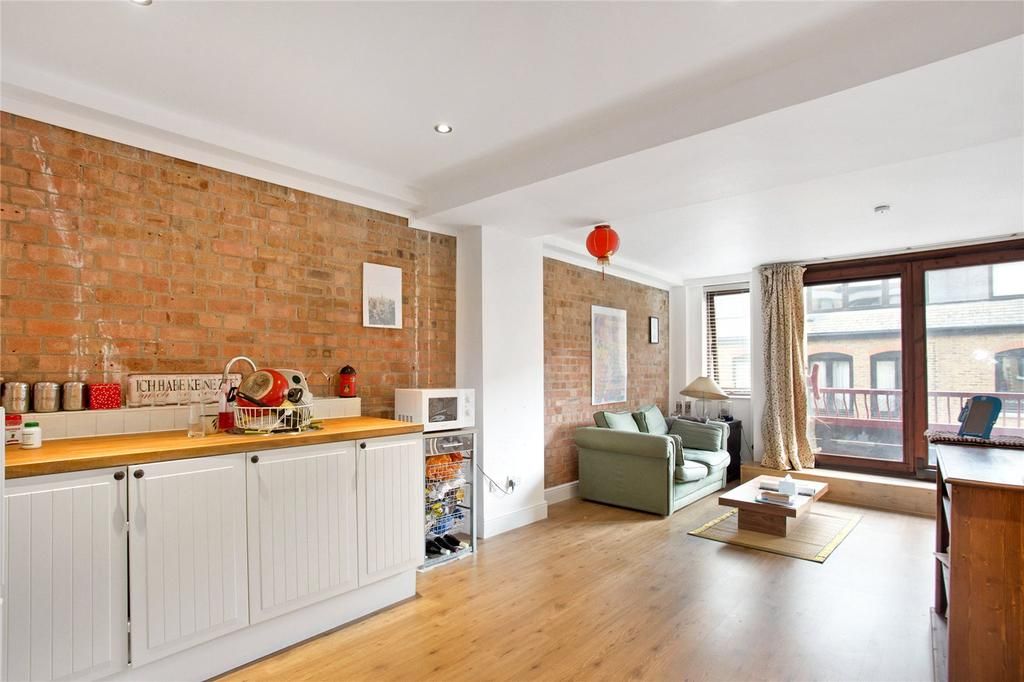 Studio Flat for sale in Gun Place, 86 Wapping High Street, London, E1W