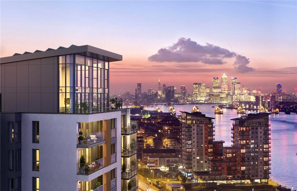 3 Bedrooms Flat for sale in Callis Yard, Woolwich, SE18