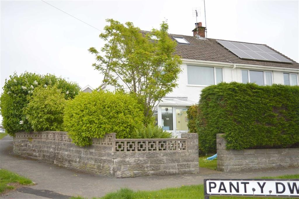 4 Bedrooms Semi Detached House for sale in Pant Y Dwr, Three Crosses, Swansea