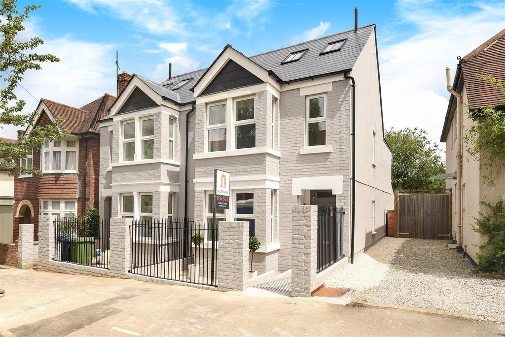 4 Bedrooms Semi Detached House for sale in Stapleton Road, Headington