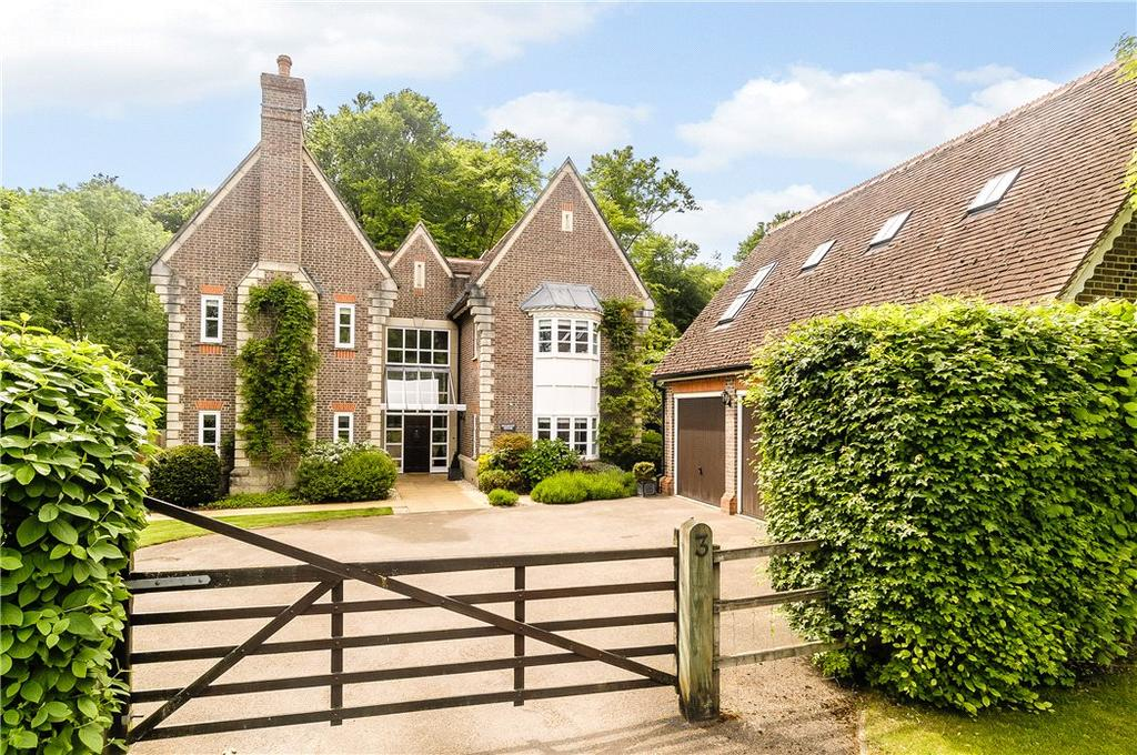 5 Bedrooms Detached House for sale in Ashdown Way, Kingwood, Henley-on-Thames, RG9