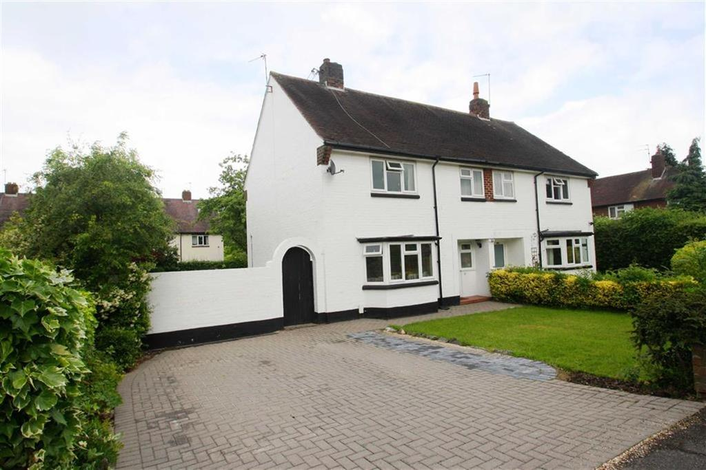 3 Bedrooms Semi Detached House for sale in Elm Crescent, Alderley Edge