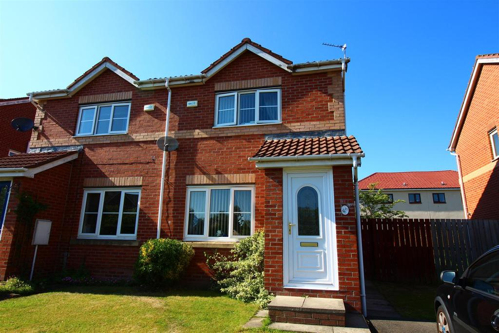 2 Bedrooms Semi Detached House for sale in Brahman Avenue, North Shields