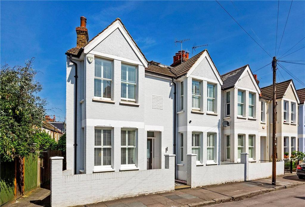 5 Bedrooms Semi Detached House for sale in Fitzgerald Avenue, London, SW14