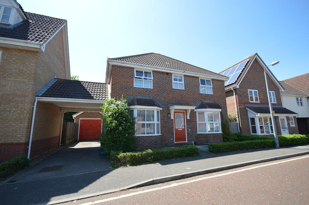 4 Bedrooms Detached House for sale in Braithwaite Drive, Colchester