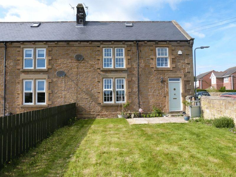 4 Bedrooms Semi Detached House for sale in Ashington Farm Cottages, Ashington Four Bed Stone Built Cottage