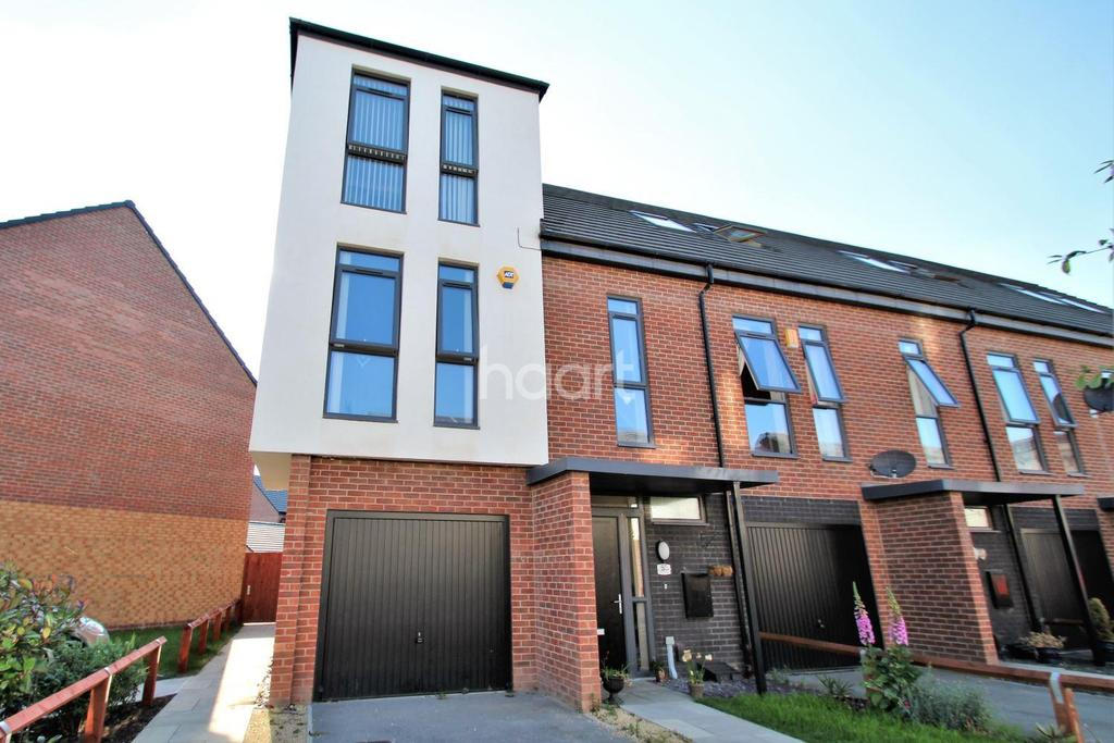 3 Bedrooms End Of Terrace House for sale in Heartswood Road, Bentley