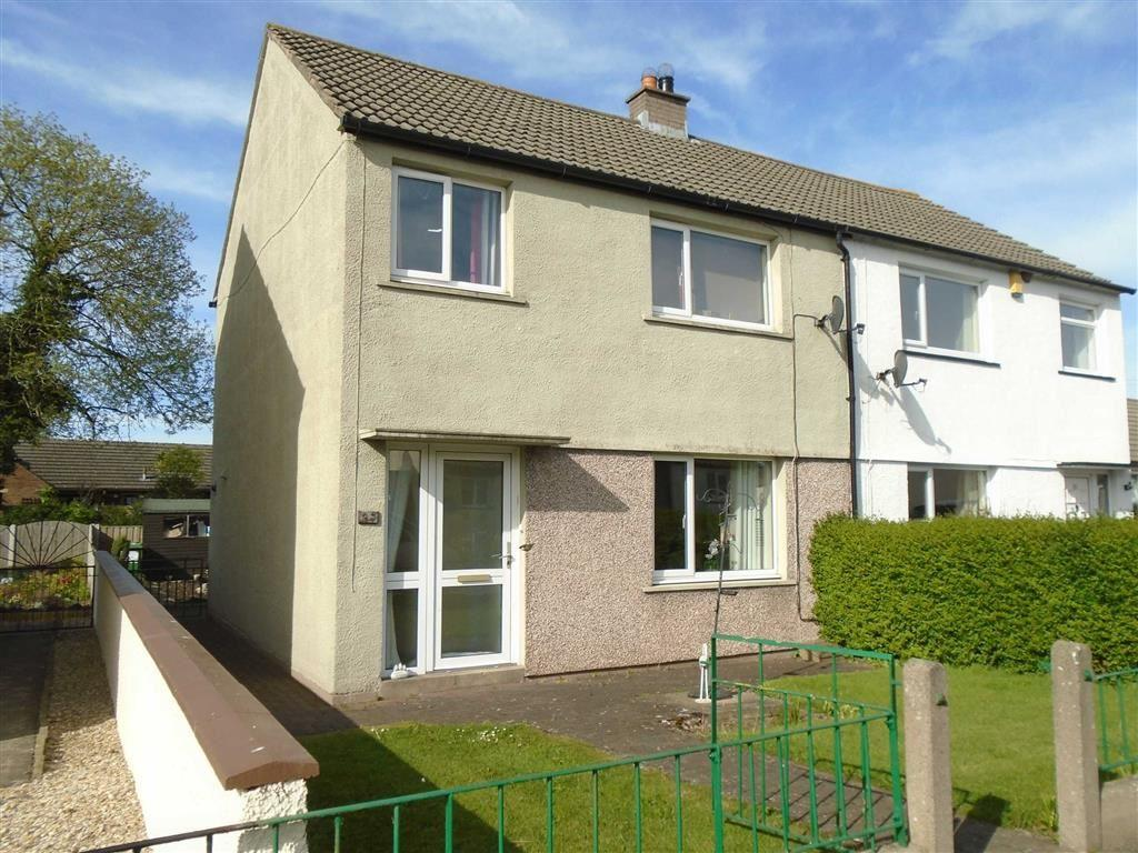 3 Bedrooms Semi Detached House for sale in Shawk Crescent, Thursby, Carlisle