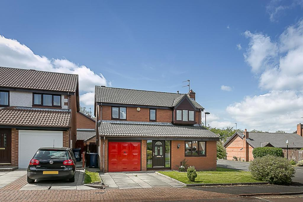 4 Bedrooms Detached House for sale in Clanfield Court, South Gosforth, Newcastle upon Tyne