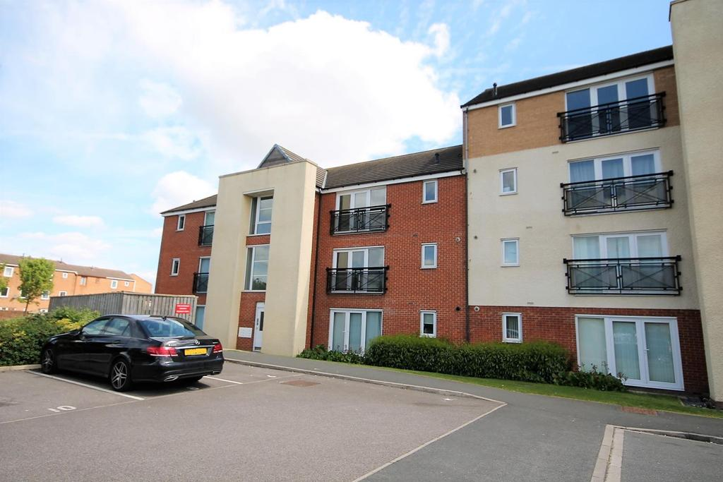 2 Bedrooms Apartment Flat for sale in Brusselton Court, Stockton-On-Tees