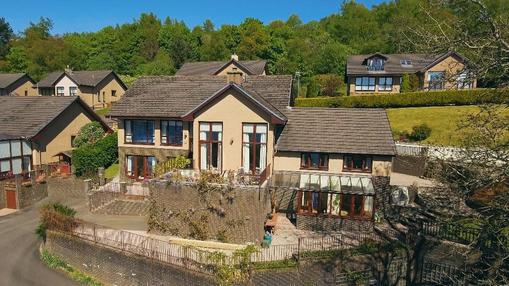 5 Bedrooms Detached House for sale in The Briars , Shandon, Argyll Bute, G84 8NR