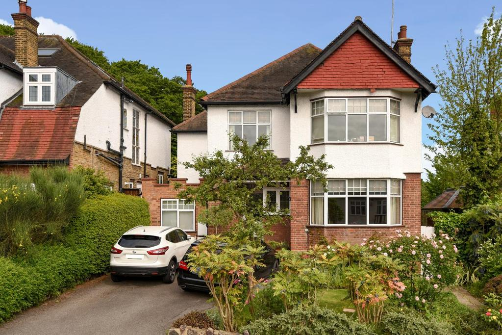 4 Bedrooms Detached House for sale in Wood Vale, Muswell Hill, N10