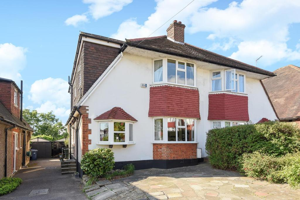 4 Bedrooms Semi Detached House for sale in Chase Way, Southgate
