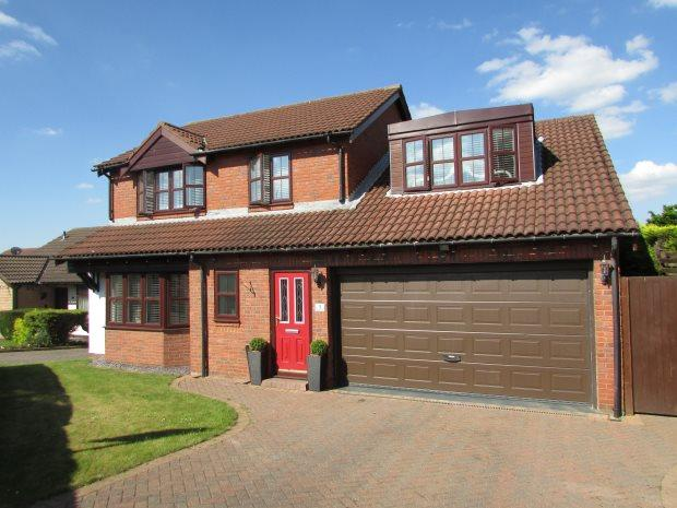 4 Bedrooms Detached House for sale in PRIORS PATH, FERRYHILL, SPENNYMOOR DISTRICT