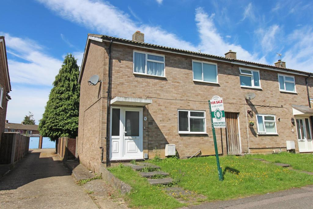 3 Bedrooms End Of Terrace House for sale in Stanley Road, Stevenage, SG2 0EE