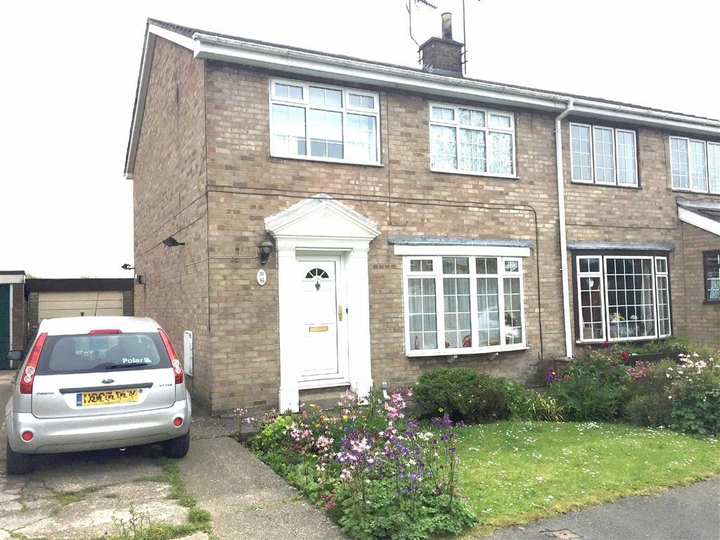 3 Bedrooms Semi Detached House for sale in Beech View, Cranswick, East Yorkshire