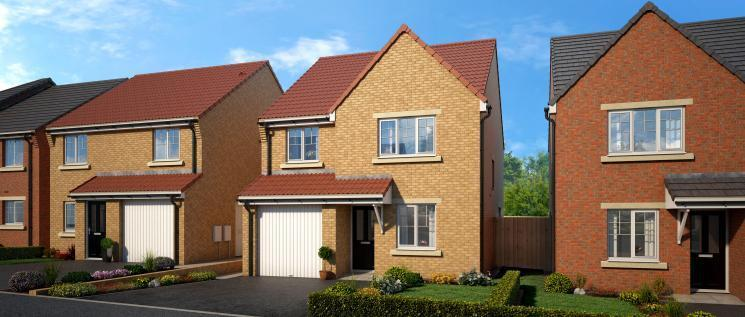 4 Bedrooms Detached House for sale in Thornvale, Spennymoor