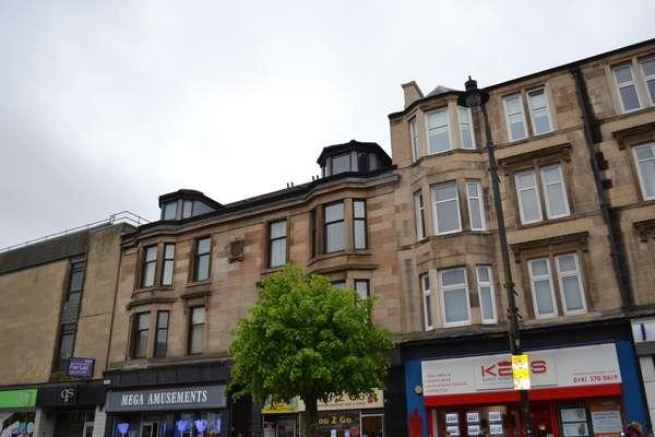 2 Bedrooms Flat for sale in Flat 1/1, 172 Main Street, Rutherglen, Glasgow, G73 2HW