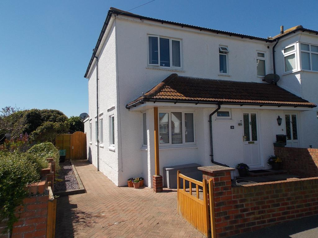 4 Bedrooms Semi Detached House for sale in Sunview Avenue, Peacehaven, East Sussex