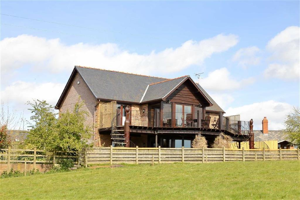 4 Bedrooms Country House Character Property for sale in Pen-Y-Bont, Oswestry, SY10