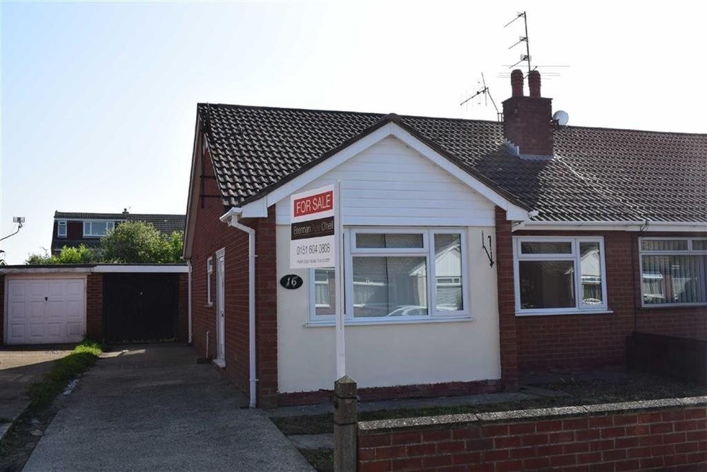 2 Bedrooms Semi Detached Bungalow for sale in Corwen Close, CH46