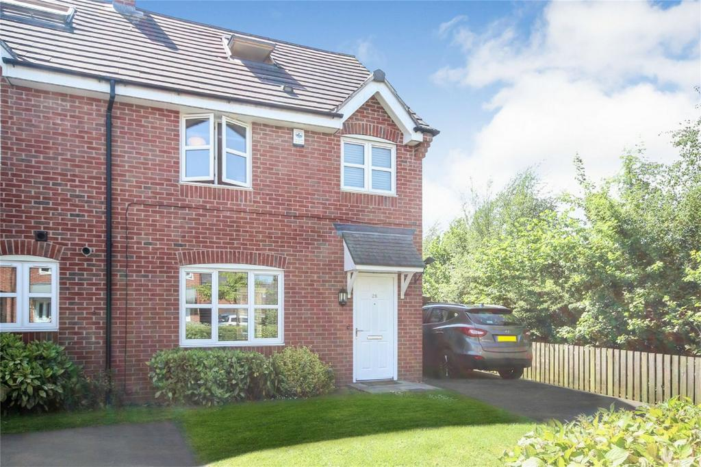 4 Bedrooms End Of Terrace House for sale in Cavendish Drive, Ashbourne, Derbyshire