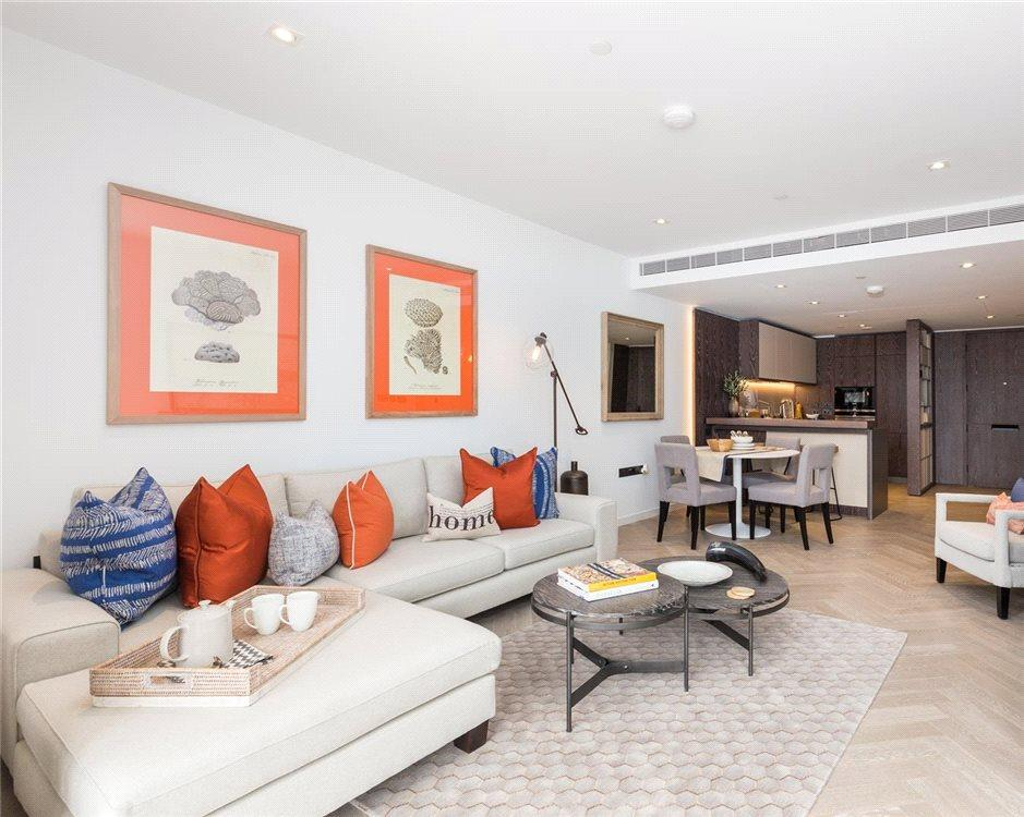3 Bedrooms Flat for sale in Circus Road West, Battersea Power Station, Nine Elms, London, SW11
