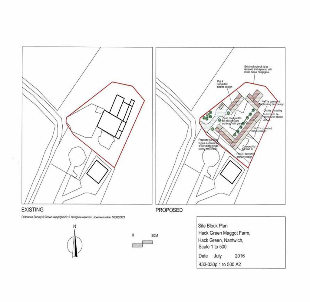 Land Commercial for sale in Hack House Lane, Nantwich, Cheshire