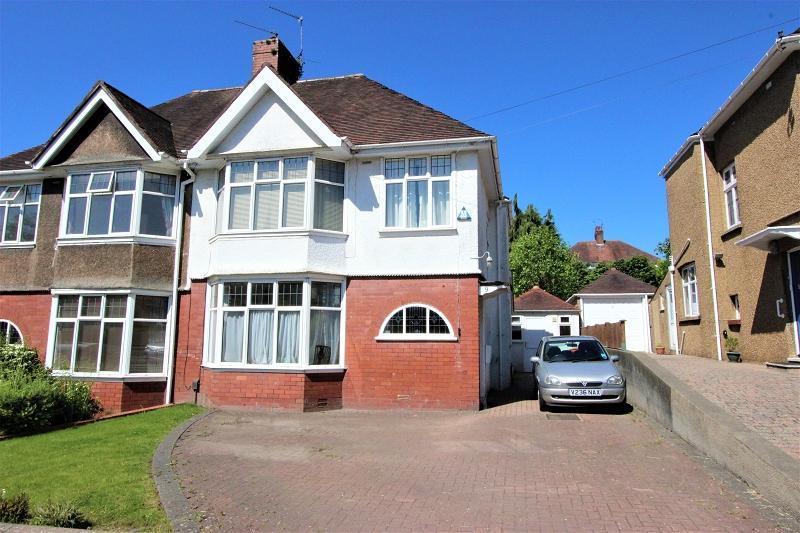 3 Bedrooms Semi Detached House for sale in Ridgeway Drive, Newport, Newport. NP20 5AR