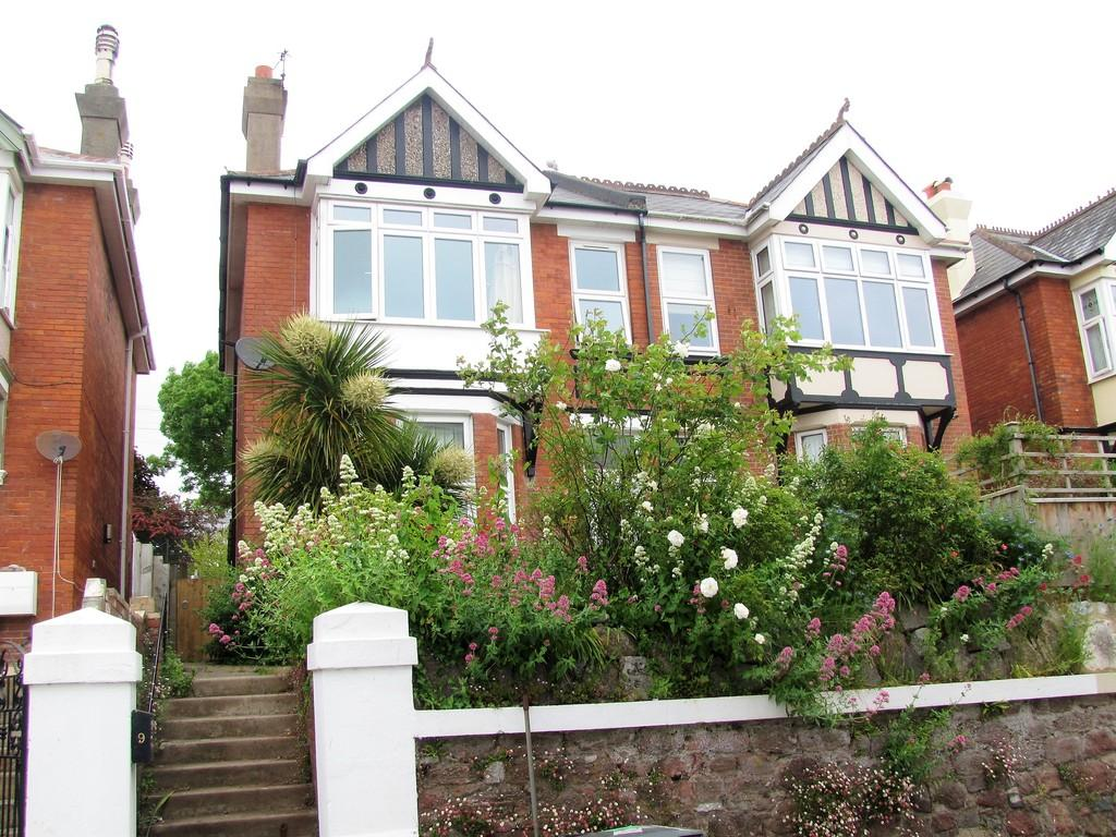 4 Bedrooms Semi Detached House for sale in Higher Brimley Road, Teignmouth, TQ14 8JS