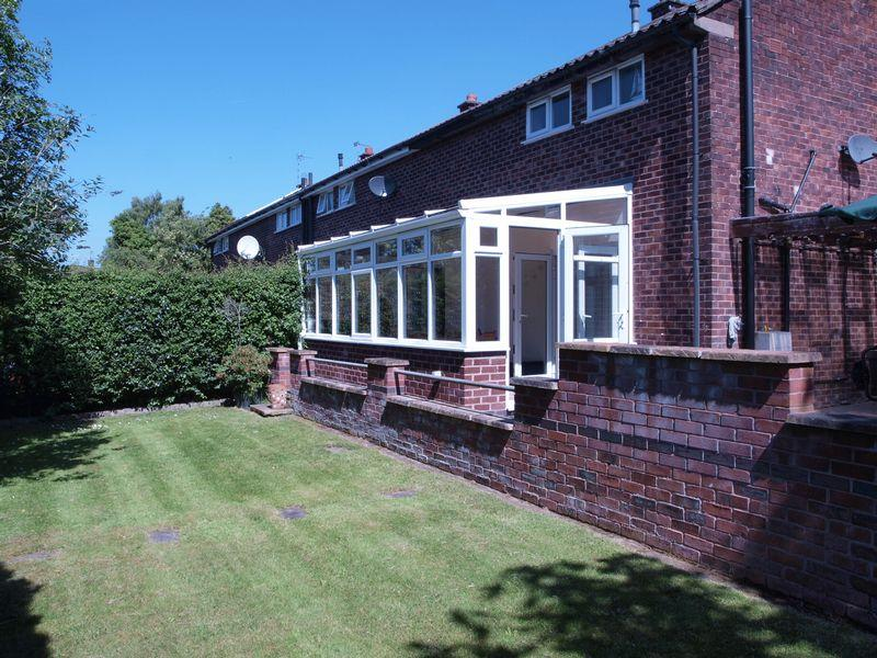 2 Bedrooms End Of Terrace House for sale in Westfield Grove, Barnton, CW8 7QB
